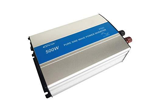 EPEVER REINER SINUS Spannungswandler IP500-12 Inverter Wechselrichter 12V DC auf 230V AC Stromwandler IP500-12, 500W 12V/230V