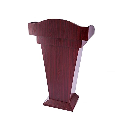 Atril de pie Sin Permanente Permanente exclusivo hotel sólido Conferencia de madera sala de conferencias Plataforma Hablando turística Recepción para la presentación de la escuela de la iglesia