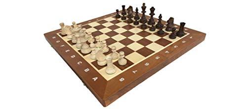 世界最高峰のハンドメイド・チェスセット Wegiel Chess Tournament No.4 (トーナメント No.4)日本正規品