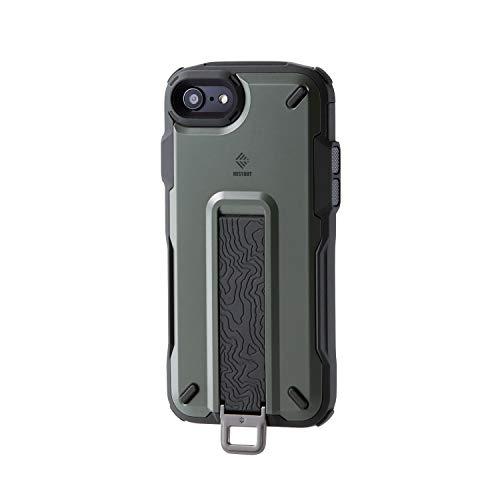 エレコム iPhone SE (2020モデル) ケース アウトドア NESTOUT Trekking 指を通せるベルト付 [すばやく着脱...