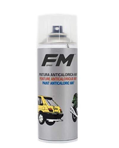FM Spray Laca Transparente Brillo ANTICALORICA 600º, 400ML