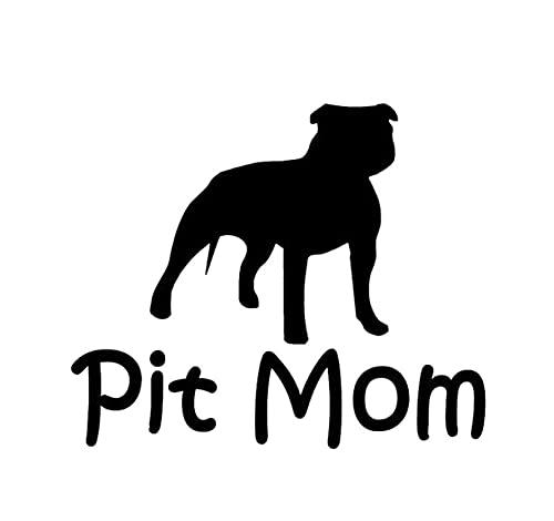Auto Stickers En Stickers Dloemen 25Cm Gepersonaliseerde Pit Mom Mode Hond Dier Auto Sticker Motorfiets Pvc Decals