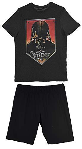 Star Wars Herren Kurz Pyjama Schlafanzug