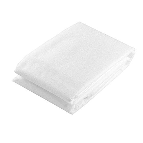 Sanheng Plant Antifreeze Cloth, Premium Non-Woven Fabric Plant Cover Reusable Floating Row Cover Frost Blanket for Garden Plants Vegetable-white(medium)