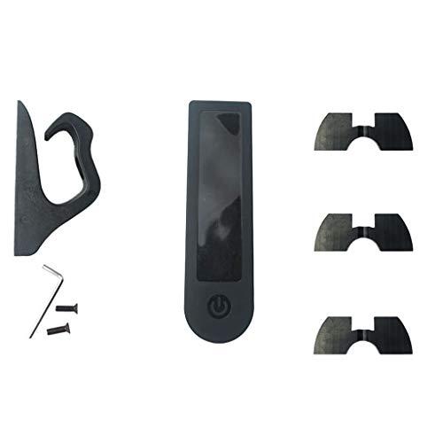 Cdoohiny Scooter Amortiguación Soporte para Xiaomi Mijia Calidad 3D Impreso Fender Guardabarros Set