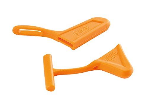 Petzl Pick And Spike Protection - Tapas protectoras para piqueta de hielo y pico, color Naranja
