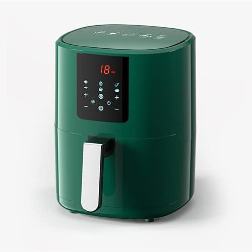 N / B Freidora de Aire Digital, una Pantalla táctil con 8 Funciones de cocción, Control de Temperatura preciso, con Pantalla Digital LED y Olla de freír Antiadherente