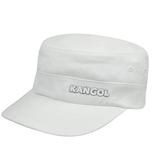 Kangol Cotton Twill Army Cap - White/L/XL White, Large-X-Large