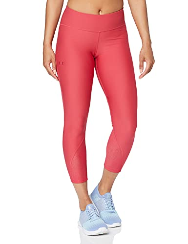 Under Armour UA Vanish Mesh Crop, Pantaloni alla Pescatora Donna, Rosa (Impulse Pink/Impulse Pink/Tonal), S
