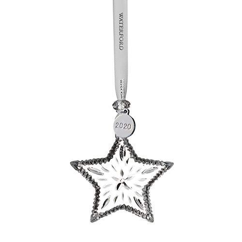 Waterford 2020 Mini Star Ornament 2.9'