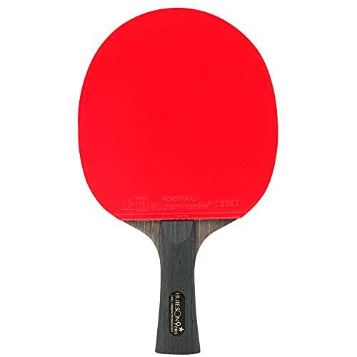 HXFENA Raquetas de Tenis de Mesa,Competencia de Entrenamiento de 9 Estrellas Palas de Ping Pong Estable Se Siente CóModo,Velocidad de Ataque RáPida Y FáCil de Controlar/A/mango