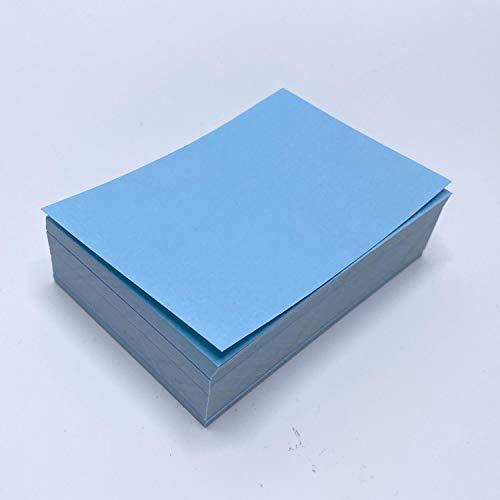 150 Beschriftungsetiketten in blau I 10 x 7 cm groß I Etiketten aus Papier zum Beschriften I universal I dv_682