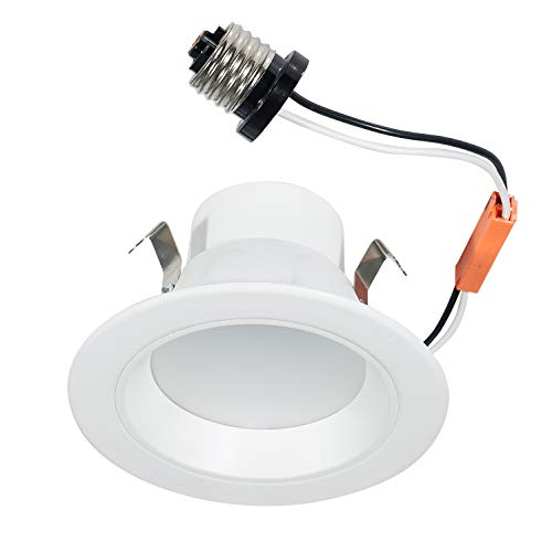 ASD 4 Inch 7.5W LED Downlight Recessed Lighting Retrofit Dimmable (50W Replacement) 525 Lm 4000K Bright White - LED Ceiling Light - Energy Star & UL Listed