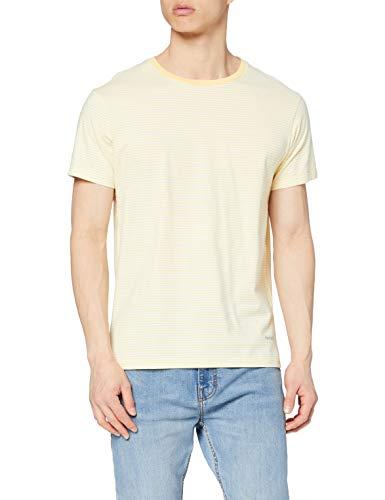 Hackett London Boat Stripe tee Camiseta, 016sunset, XL para Hombre