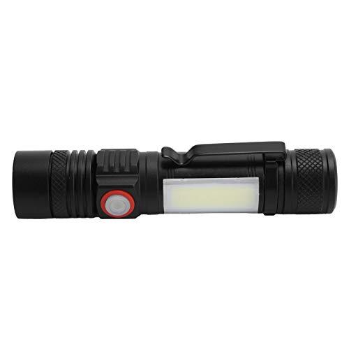 Linterna Antorcha eléctrica Potente Linterna Múltiples Modos de iluminación Diseño ergonómico Pesca para Acampar al Aire Libre