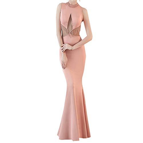 TOYIS Sexy Avond Gowns voor Vrouwen Lange Gala Jurken Elegante Feestbal Kralen voor Bruiloft Gast