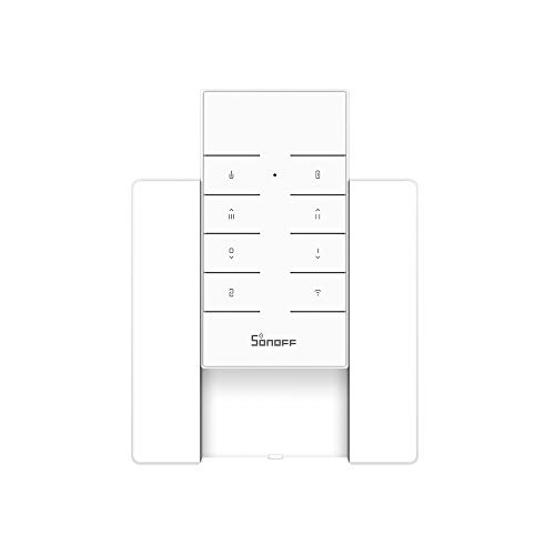 SONOFF RM433 433MHz Remote Controller for SONOFF RF,4CH PRO R2, Slampher, RF Bridge, SONOFF TX (with BASE)