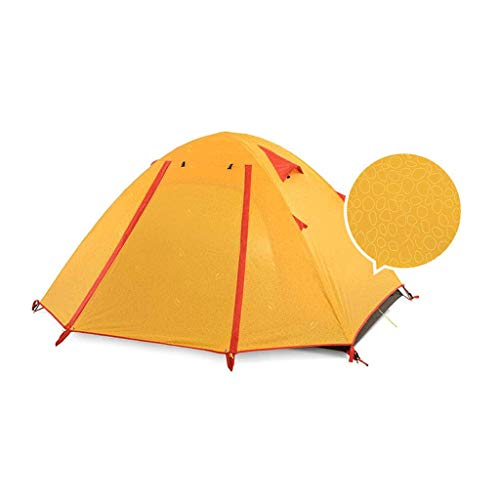 tent Equipo al aire libre 4 personas impermeable, a prueba de humedad, control de plagas equipo de camping al aire libre (color: C)