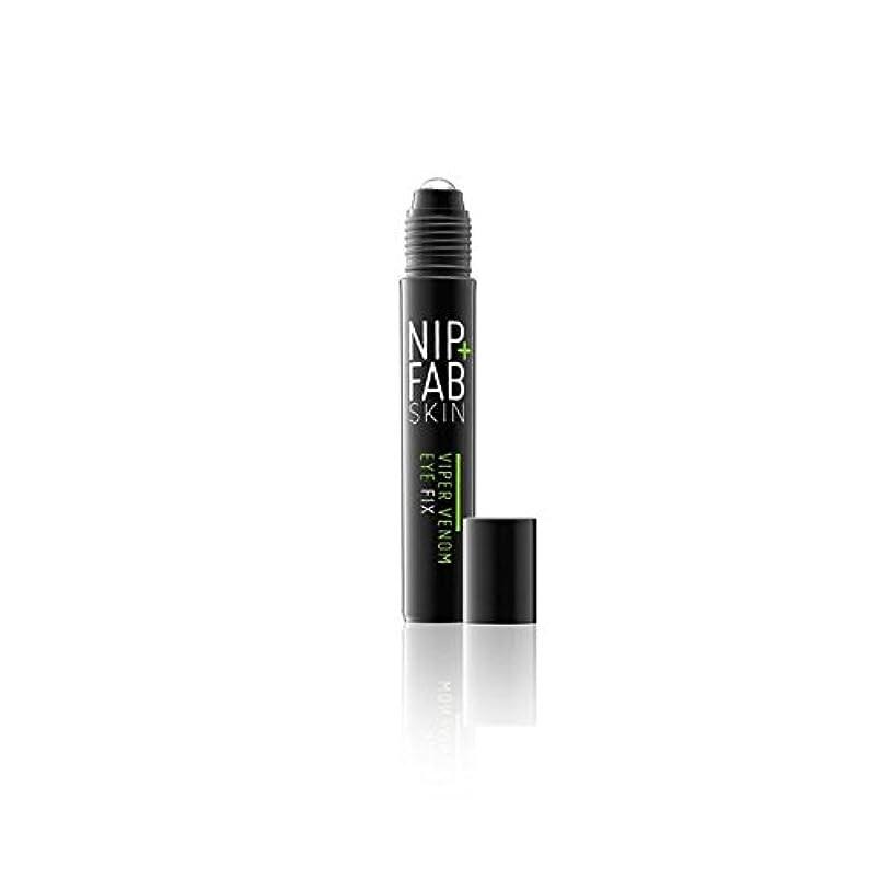 全国剃るアッパーNip+Fab Viper Venom Eye 15ml (Pack of 6) - + 蛇毒目の15ミリリットルニップ x6 [並行輸入品]