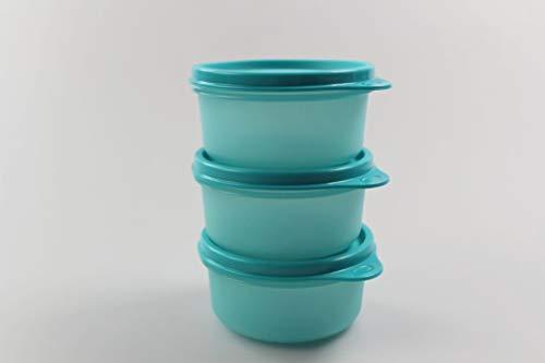 Tupperware Kühlschrank Julchen (3) 200ml türkis Dose Box Behälter