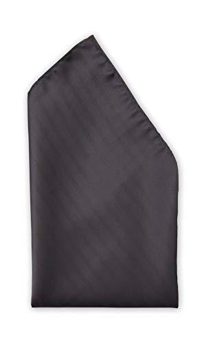 Fabio Farini - Cravates, nœuds papillons et mouchoirs attrayants et élégants pour la robe à cravate noire code noir mouchoir noir mat rayures douces