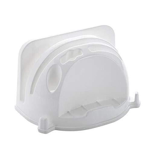 Generic Ristiege Haushalts Schneidebrett Stand Pan Lid Organizer Halter Küche Kochutensilien Werkzeug für zu Hause,Weiß