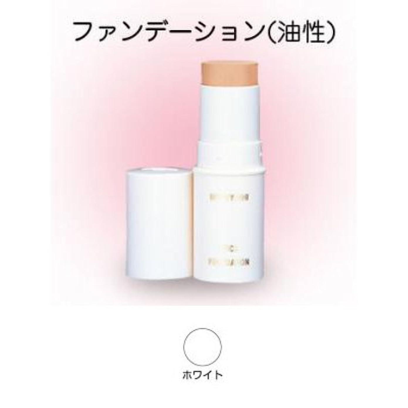 ジャグリングパンチ法医学スティックファンデーション 16g ホワイト 【三善】