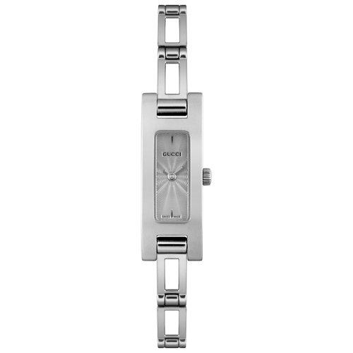 Gucci YA039533 - Reloj de pulsera mujer, acero inoxidable, color plateado