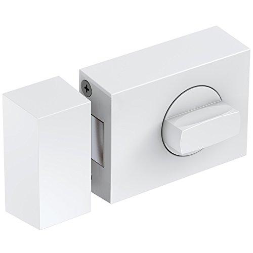 Basi® Kastenzusatzschloss KS500 Tür-Zusatzschloss verschiedene Farben Sicherheitsschloss 1303-0201, Weiß