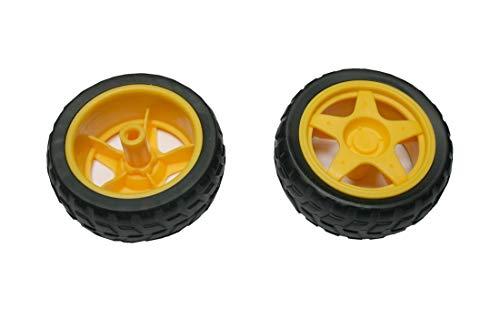 B2Q Rad Reifen für Arduino TT Gear Motor 1 Stück (0061)