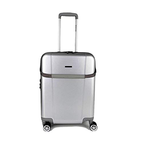 Newcom Top Opening Hand Luggage, ABS Hard Shell Carry on Suitcase, 50cm/ 20-in
