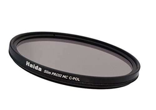 Haida Pro II Digital Slim Polfilter Zirkular MC (multicoating) - 46 mm - inkl. Cap mit Innengriff