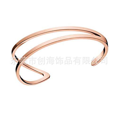 Armband Armbanden Polsband Paar Armband Opening Ck Letter Modern Met Dezelfde Alinea Rose Goud Paar Armband Een Generatie
