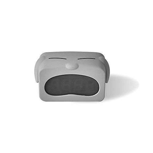 MLYWD digitale klok voor kinderen met siliconen hoes wekker daglicht wekker slaapkamer timer datum temperatuurweergave met sluimer-geheugenfunctie, achtergrondverlichting, stroomvoorziening via USB