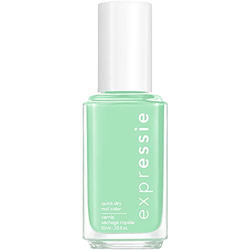 essie expressie Quick-Dry Vegan Nail Polish, Express To Impress, Mint Green, 0.33 Ounce