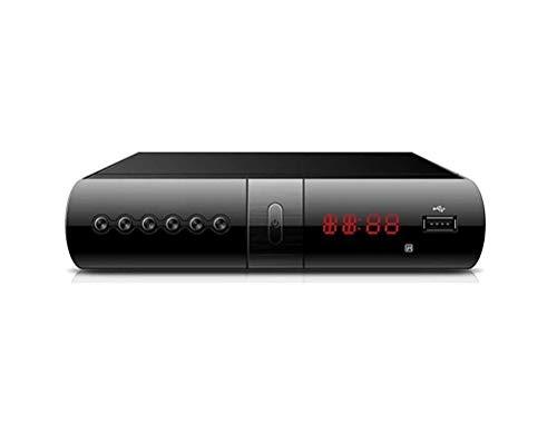 Digitale Terrestre Decoder DVB-T3 Ricevitore Scart HDMI USB Telecomando Full HD Fair