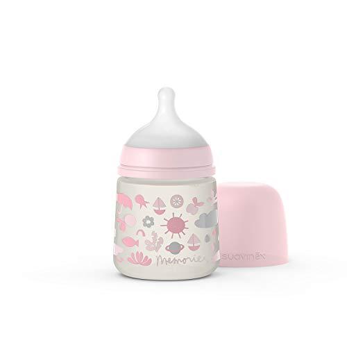 Suavinex Biberon Tetina Sx Pro S Memories Rosa 150 ml