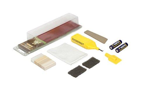 Picobello G61611 Holz Reparatur Set (Small) -Parkett Laminat Möbel Treppen-Farbset hell