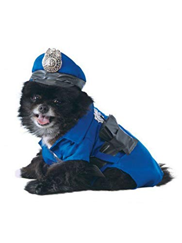 Rubies Police Officielle Pet Costume pour Chien – Taille L