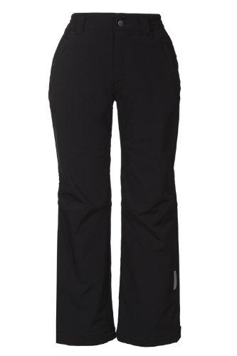 Icepeak Sal Jr Pantalon Soft Shell Garçon, Noir, FR : L (Taille Fabricant : 140)