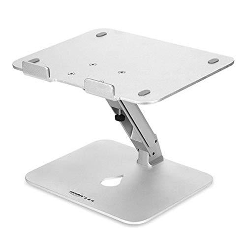 LXYFMS - Soporte de Ordenador para Ordenador de 10 a 17 Pulgadas, Ajustable, de Aluminio, de 2 pies, Plegable, inclinable, Soporte de Escritorio para TV