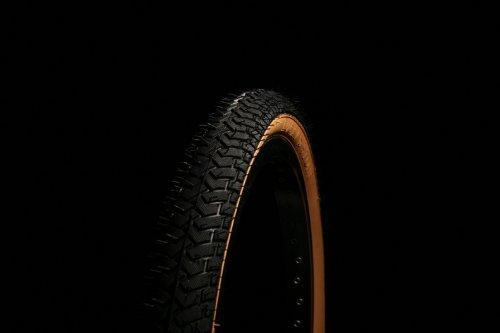 Curio UK Schwarz W/Gumwall BMX-Reifen Tire LS21420x 2.125Rampe Street Gewinde