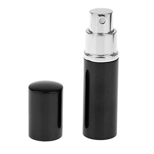 Preisvergleich Produktbild 10 Ml Mini Parfüm Rasierwasser Spray Zerstäuber Zerstäuber Mehrwegflasche Schwarz