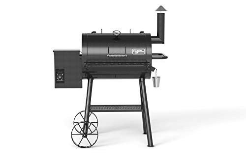 Country Smokers CS0711 Pellet Grill, Black
