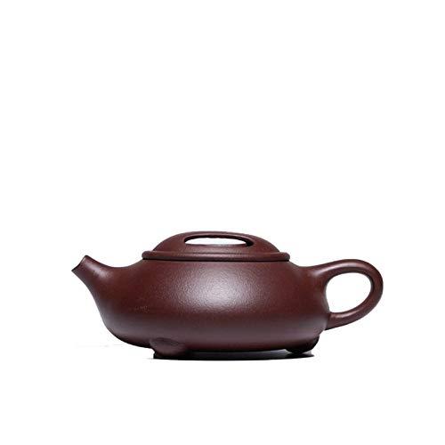 ADSE Tetera de Arcilla púrpura, Famosa Tetera de cerámica de Kung Fu Hecha a Mano, vajilla Creativa, Enviar Caja de Regalo para la Fiesta del té (Color: como se Muestra)