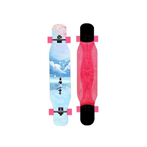 HXGL-Skateboards Skateboard Longboard Girls Beginners Dance Board Adult Scooter De Cuatro Ruedas...