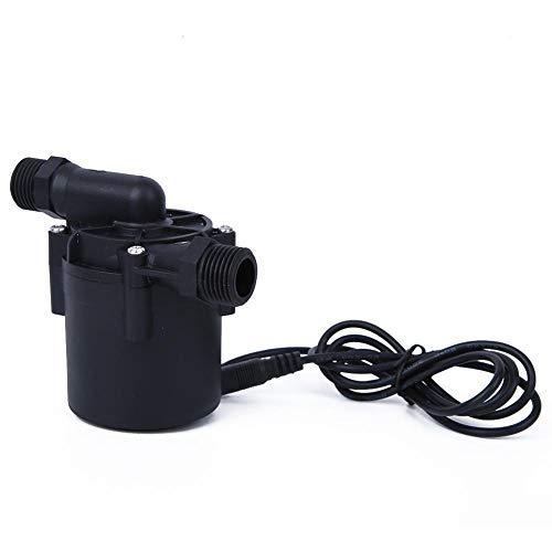 Bürstenlose Wasserpumpe, DC24V 12 m 1500 l/h G1/2 DC Ultra-leise Tauchpumpe Bürstenlose Wasserpumpe für Spülmaschinen für Automotoren Geschirrspüler Werkzeugmaschinenausstattung Brunnen