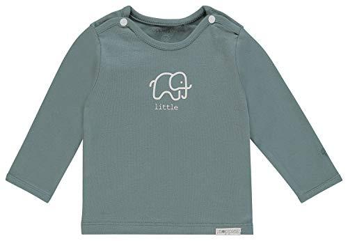 Noppies Baby-Unisex U Tee ls Amanda Elephant T-Shirt, Grün (Dark Green C185), 62