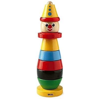BRIO Stacking Clown