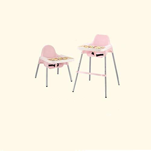 shixiaodan Bebé Silla de Comedor Mesa de Comedor para niños y bebés Silla Plegable Asiento Infantil para el Aprendizaje portátil Multifuncional para Comer Silla de Cena